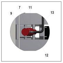 Yard Ramp hydraulic cylinder